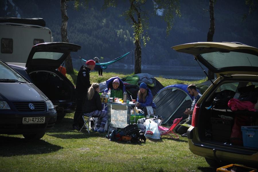pole namiotowe w Oddzie