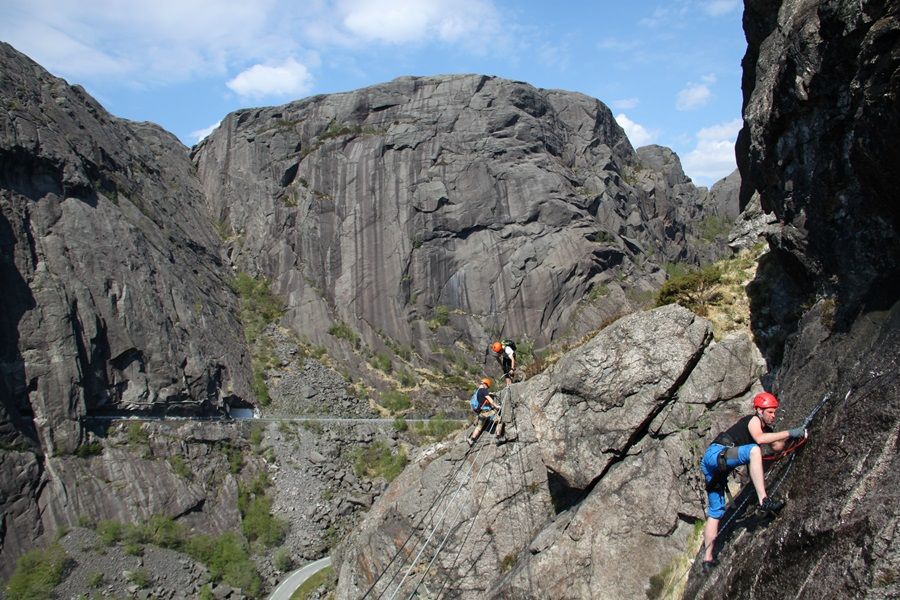 norweska via ferrata