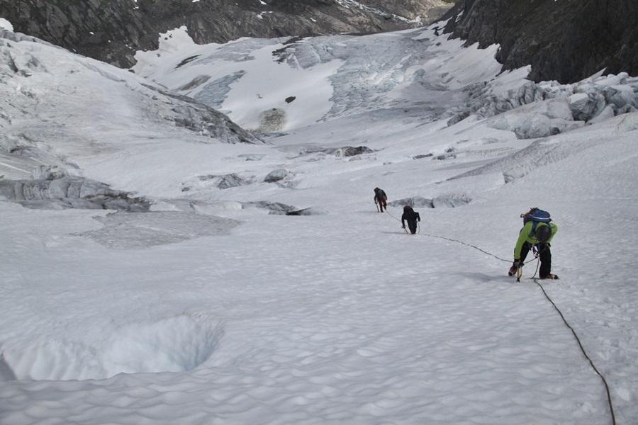 podejście lodowcem