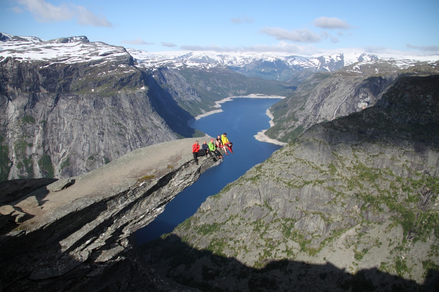 nasz team na Trolltundze