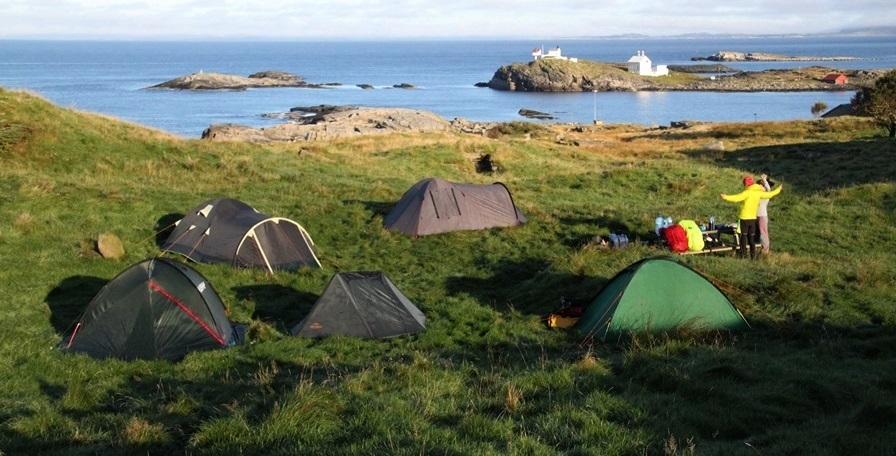 dziś powietrze pachnie jak ostatnie dni wakacji – biwak na wyspie Mosterøy