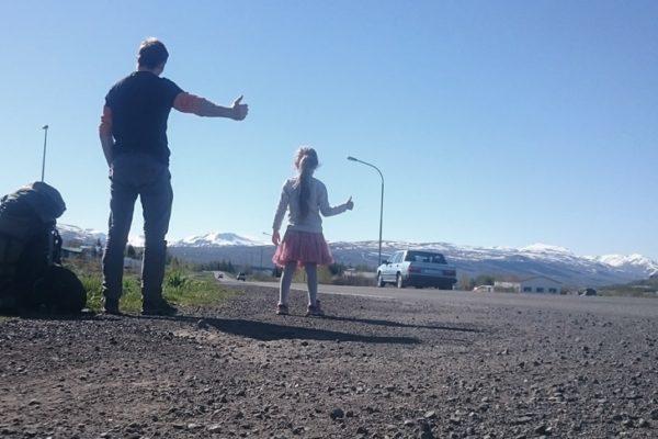 stop na Islandii