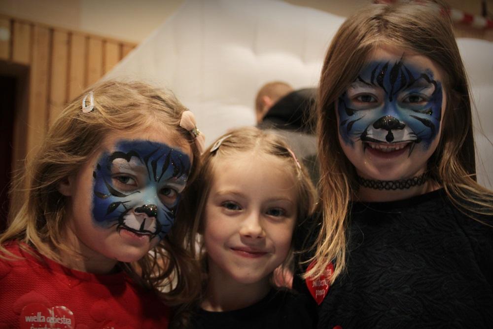 efekt malowania twarzy przez Anie Kowal