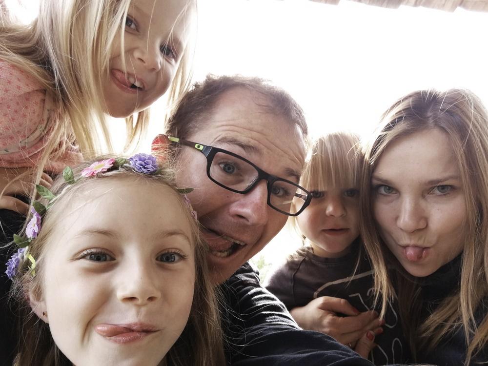 Dagmara i jej dzieci