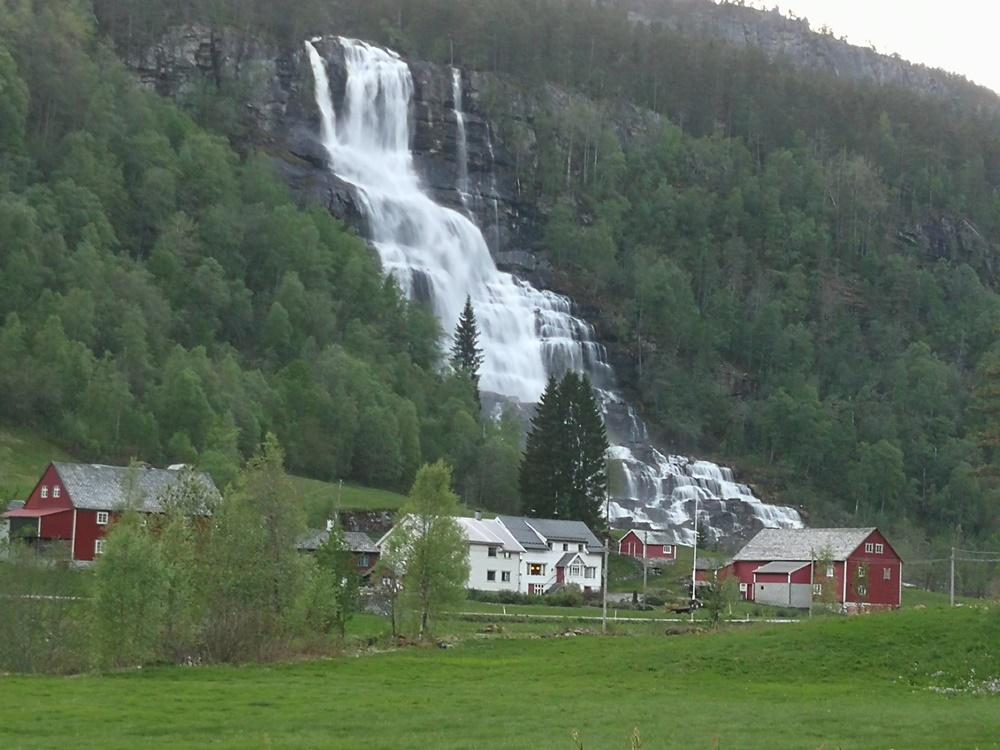 kolejny wodospad