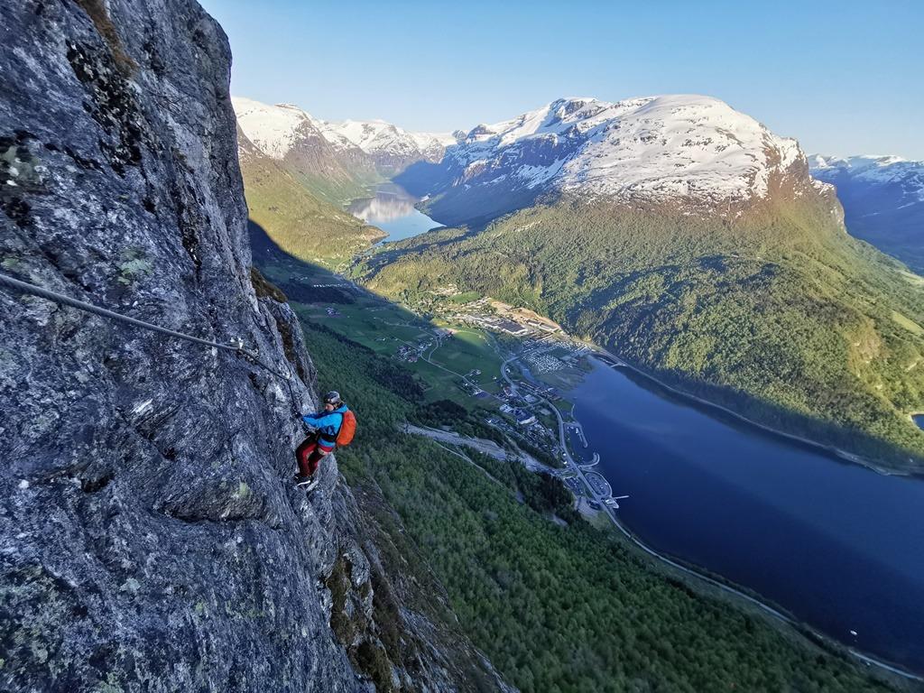 Via ferrata w Norwegii